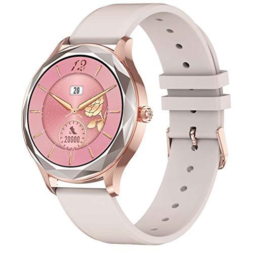 ADH DT86 2021 Smartwatch Man Reloj De Mujer Ritmo Cardíaco Spygmomanometer Sports Watch (para iOS Android),C