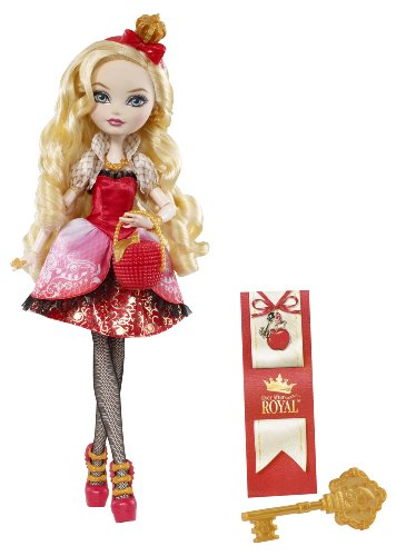 Ever After High -Mattel BFX26 - Ever After High Apple White Poupée Mannequin