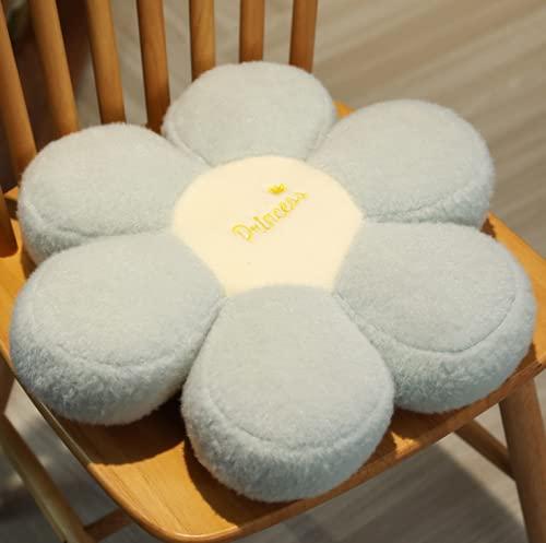 Baodaner - Cuscino in peluche a forma di girasole, a forma di fiore, per decorare la camera da letto, 40 cm, 17 pezzi