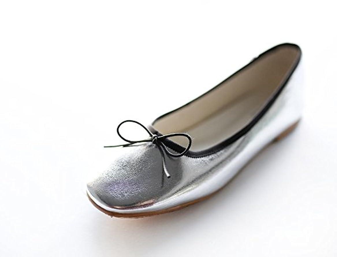 外交官ナラーバー窓[ノーブランド品] RIEL Ribbon Flat Shoes 4-COLOR (リエルリボンフラットシューズ4-COLOR)