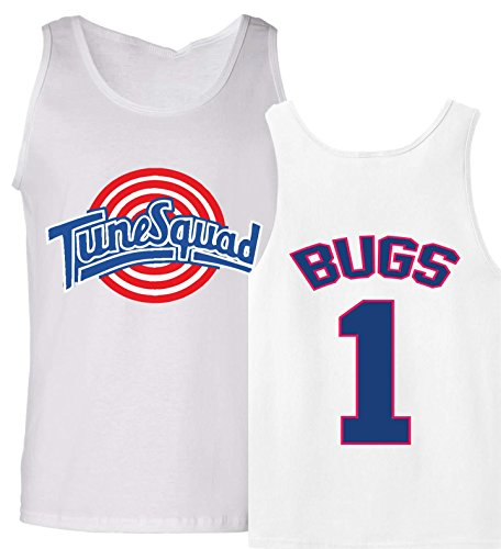 The Silo Tunesquad Bugs Bunny Tank Top Jersey Adult XL