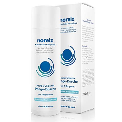 noreiz Hautberuhigende Pflege-Dusche • Medizinisches Duschgel bei Juckreiz, Neurodermitis und empfindlicher Haut • mit Thiocyanat • milde Rezeptur • 200ml
