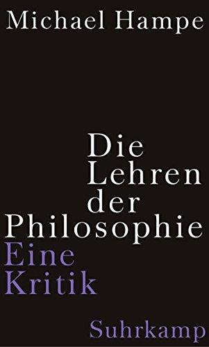 Die Lehren der Philosophie: Eine Kritik