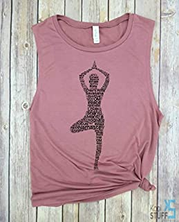 Yoga Pose, Yoga Tank, Cardio is Hardio, Muscle Tank, Gym tank, Yoga shirt, Women's Tank Funny Workout tank, weight lifting tank