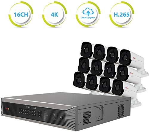 For Sale! Revo America Ultra Plus Commercial Grade 16 CH 4K H.265 NVR, 4TB Surveillance Grade HDD, R...