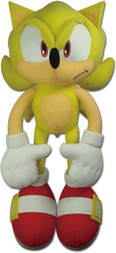 GE Animation Ge-52626 The Hedgehog - Super Sonic Plush, 20'/Large