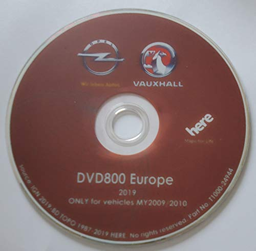 DVD Original GPS Europa Opel 2019 DVD800 – MY09