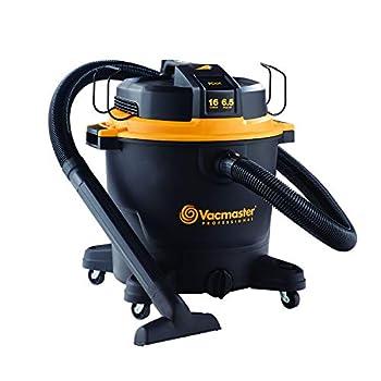 Vacmaster Professional - Professional Wet/Dry Vac 16 Gallon Beast Series 6.5 HP 2-1/2  Hose  VJH1612PF0201  Black