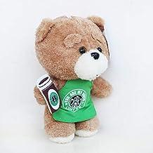 changshuo Juguete de Peluche8 `` 20 Cm Película Teddy Bear Ted 2 Peluches En Delantal Oso De Peluche Camarero Cosplay Peluche Suave Peluches Juguetes Muñeca