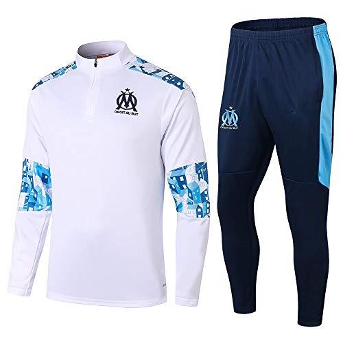 zhaojiexiaodian uniformes de fútbol de manga larga, primavera y otoño, camisetas, uniformes de entrenamiento, uniformes de competición, camisetas deportivas (Figura 2, S)
