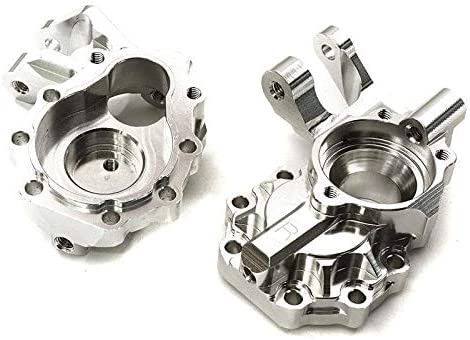Integy RC Model C27989SILVER Machined D Inner Portal Alloy 4 years Brand new warranty Front