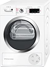 Bosch Serie 8 WTW855R8IT Asciugatrice (Libera installazione Carico frontale 8kg A++, tumble dryer), Bianco