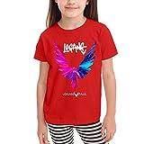 Loganpaul Camisetas gráficas para niñas Adolescentes, niños y niñas, Camiseta de Manga Corta, Camisetas de algodón, Camisetas para niños, 2-6t