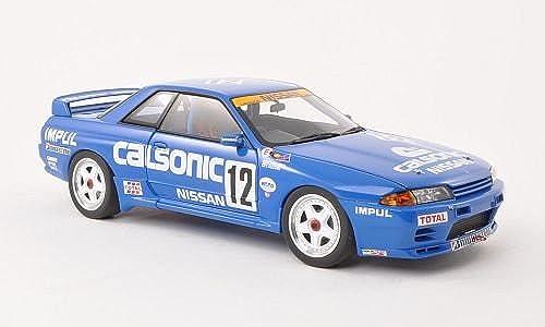 Entrega directa y rápida de fábrica Nissan horizonte GT-R (R32) Gr.A, No.12, Calsonic Calsonic Calsonic , 1990, Modelo de Auto, modello completo, AutoArt 1 18  nuevo estilo