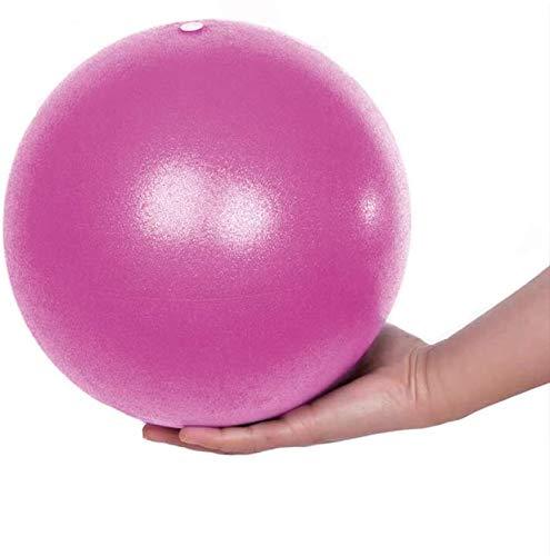 Pelota de Pilates Suave Balones de Ejercicio para Fitness Mini Pelota de Gimnasio de 25 cm, Pilates, Yoga, Entrenamiento básico y Fisioterapia en el hogar, Gimnasio y Oficina