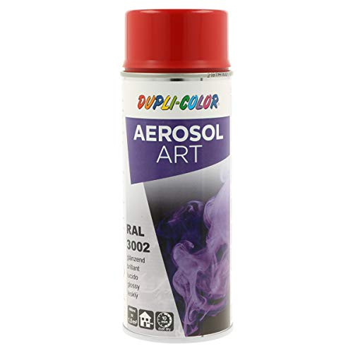 DUPLI-COLOR 741098 Aerosol Art, RAL 3002 Karminrot Glänzend