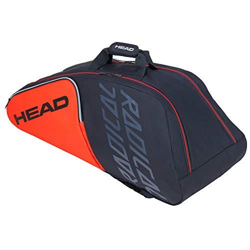Head Radical 9R Supercombi Bolsa de Tenis, Unisex Adulto, Naranja/Gris, Talla única