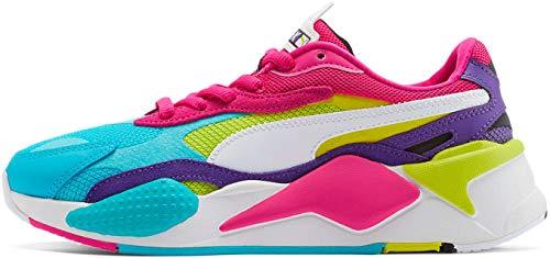 Puma   Womens Rs X3 Puzzle Shoes, Size: 6 B(M) US, Color: Beetroot Purple/Puma White