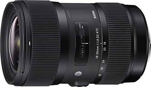 Sigma 18-35mm F1.8 Art DC HSM Lens for Canon,...