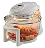 Cooks Professional Electric Halogen Oven with Hinged Lid, 17L Capacity, Self Cleaning & Timer...