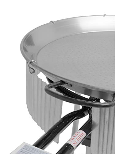 Paella Gas Burner Wind Shield - Fits all burners from 30cm to 50cm made from ROUND tubing