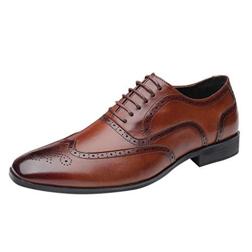 HoSayLike Zapatos De Cuero De Los Hombres Casual Verano Nuevo Talla Grande Moda Zapatos De Hombre Al Aire Libre Suela De Goma Slip On TacóN Plano Cabeza Redonda