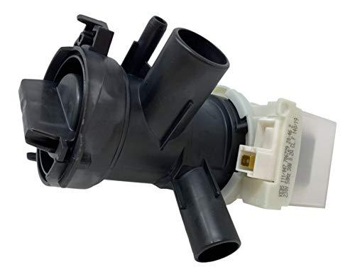 DREHFLEX LP56 - Bomba de desagüe para diversas lavadoras Bosch/Siemens/Constructa (para n.º de pieza 145212/00145212)