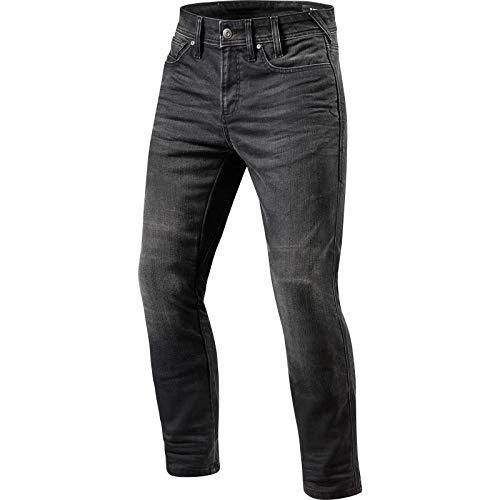 Preisvergleich Produktbild Revit Brentwood SF Motorrad Jeans Dunkelgrau 34 L34