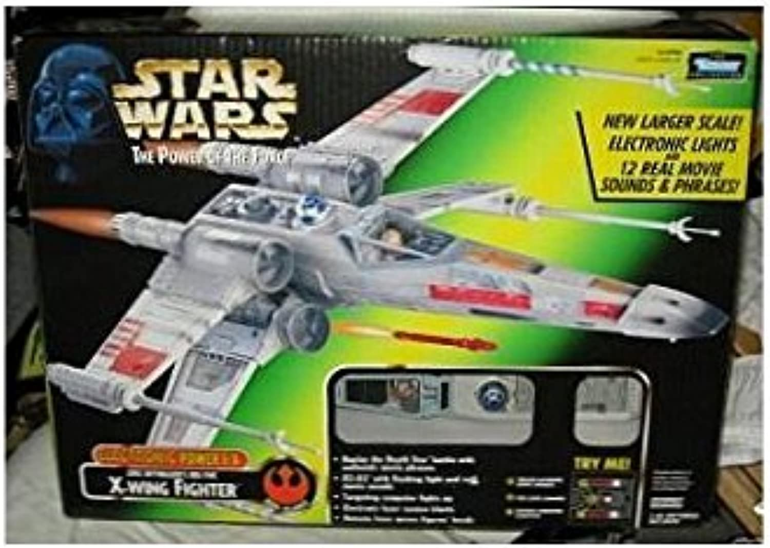 Star Wars Electronic Power F X X-Wing Fighter Red Five by Yves