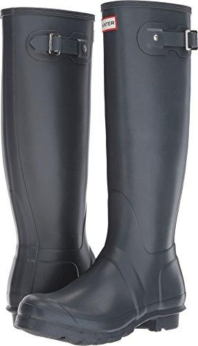 Hunter Women's Original Tall Dk Slate Rain Boots - 9 B(M) US