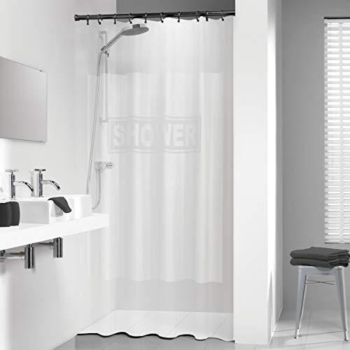 Sealskin Duschvorhang Shower, Farbe: Weiß, B x H: 180 x 200 cm