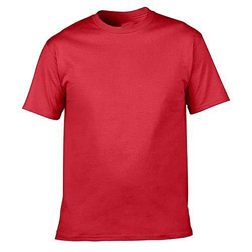 NOBRAND Camiseta Manga Corta Ropa Rojo rosso XL