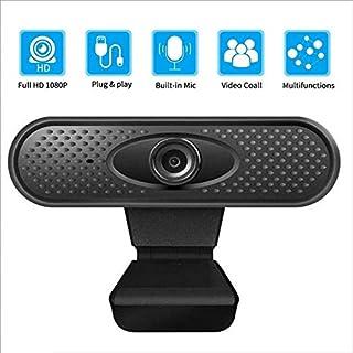 YIJ-YIJ Webcam with Microphone, 1080P Full HD Webcam, USB Desktop Laptop Webcam Live Streaming Webcam Built-in Noise Reduc...