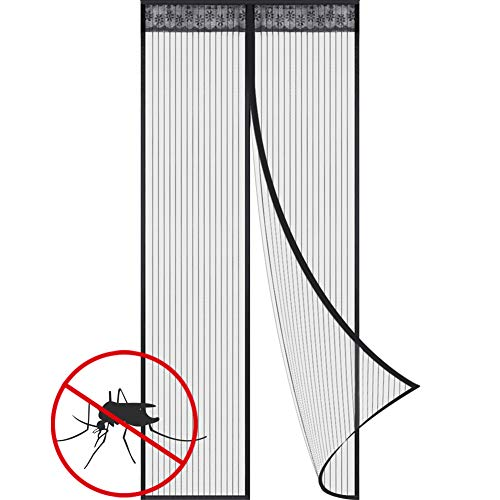 Magnetic Fly Screen Door Keep Insects Out Mosquito Door Screen Easy to...