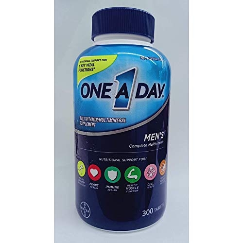 One A Day Men's Health Formula, 300 Tablets Complete Multivitamin