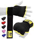Starpro Bande Boxe sous Gants Intérieurs et Protecteur de Poing et de Pouce pour la Formation en Boxing, Sparring, Muay Thaï, Kickboxing, MMA, Arts Martiaux et Combat Training - Couleurs Variées