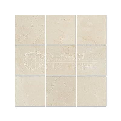Crema Marfil Spanish Marble 4 X 4 Subway Field Tile