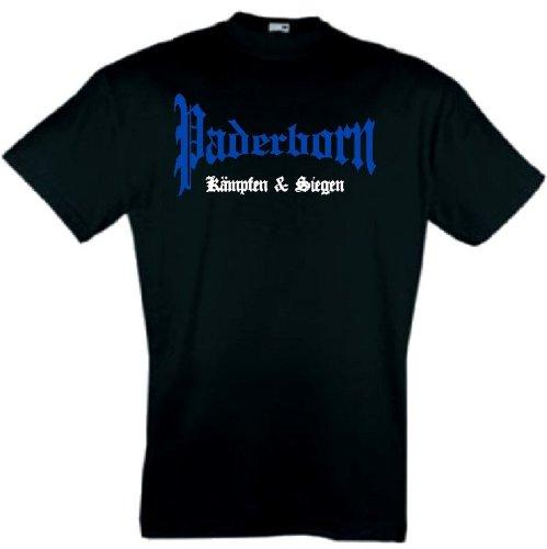world-of-shirt Herren T-Shirt Paderborn kämpfen und siegen
