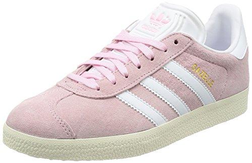 adidas Gazelle W, Zapatillas de Deporte Mujer, Rosa (Wonder Pink/Footwear White/Gold Metallic), 36 2/3 EU