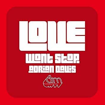 Love Won't Stop