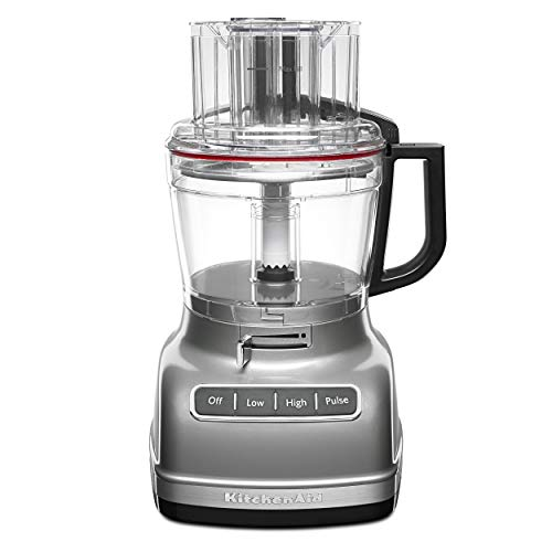 KitchenAid KFP1133CU 11-Cup Food Processor with ExactSlice System - Contour Silver
