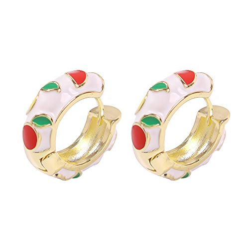 Ai.Moichien Stud Earrings Resin Gold Plated Dainty Women Elegant Jewelry Gifts Party Accessories