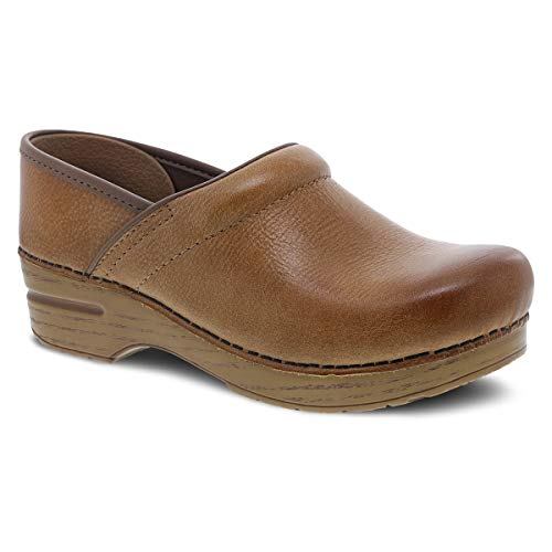 Dansko Women's Professional Honey Distressed Clog 8.5-9 M US