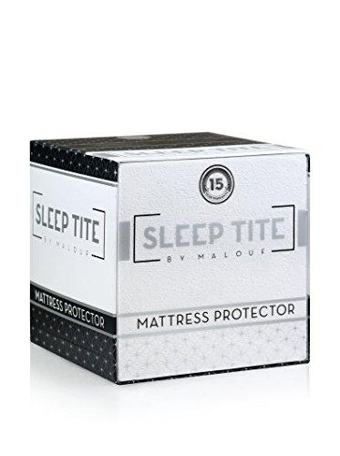 Sleep Tite Malouf Waterproof Mattress Protector, Queen