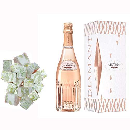 Champagne Vranken - Diamond Rose bei nougadets & 150g weich weiß - Jonquier Zwei Brüder
