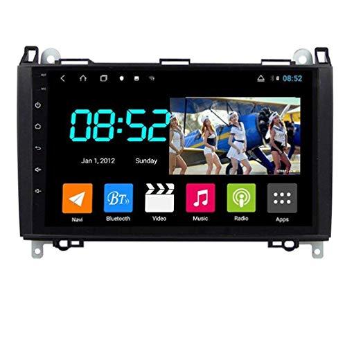 Radio de coche Android 8.1, GPS, pantalla táctil de 9 pulgadas, 1080P, HD, para Benz B200 Clase B, con control en el volante, Bluetooth, manos libres, DAB SWC, 8 núcleos: 4G + WiFi 4G + 64G