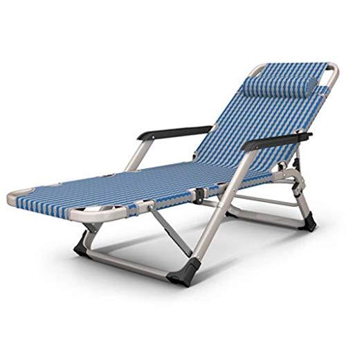 Productos para el hogar Cama Plegable Fácil Almacenamiento Acogedor y Plegable Camping Cama para Dormir Plegable portátil para Trabajo Pesado con Almohada y colchón Sillón de Playa Equipo de campam