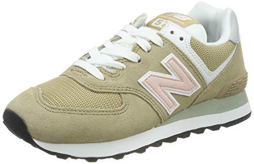 New Balance Damen 574v2 Sneaker, Brauner Hanf, 42.5 EU