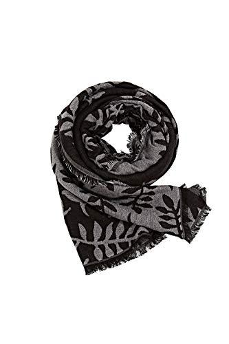ESPRIT Damen 990EA1Q308 Mode-Schal, 001/BLACK, Einheitsgröße