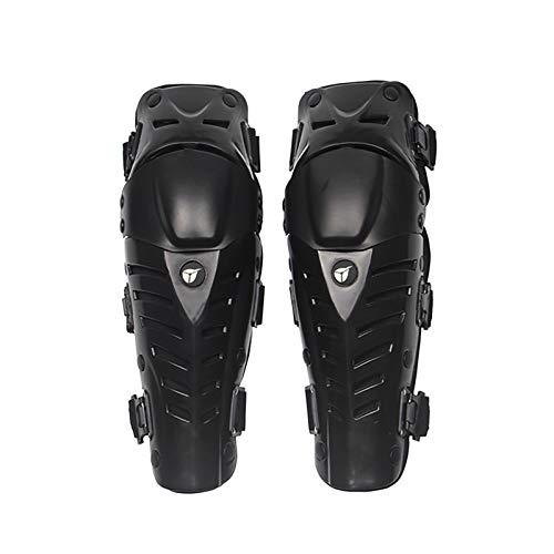 VOMI Rodilleras Moto Adultos, Protección de Rodilla Espinillera Protector Rodilla Hombre, Ajustable/Respirable/Flexible para Motocross Enduro Motocicleta Ciclismo Bicicleta Monopatín